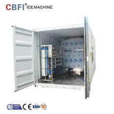 China Containerized Commercieel Koelmiddel 29*29*22mm van de Ijsblokjemaker R507 fabriek